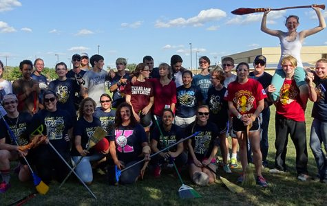 Students Vs. Faculty Quidditch Match