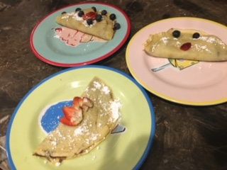 Delicious Homemade Crepes