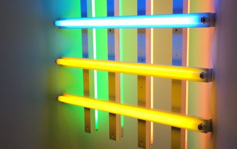 Dan Flavin Art Piece
