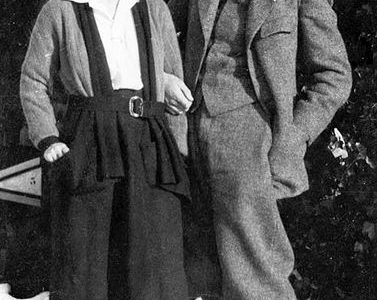 Ernest and Hadley, one year following their marriage.