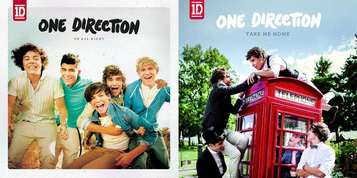 Album Fight: One Directions' Up All Night v  Take Me Home