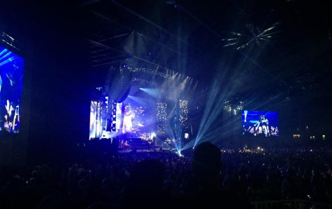 A picture taken at a Zac Brown Band Concert at the Starplex Pavilion