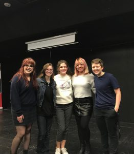 KHS Slam Poetry Team Wins Preliminary Bout
