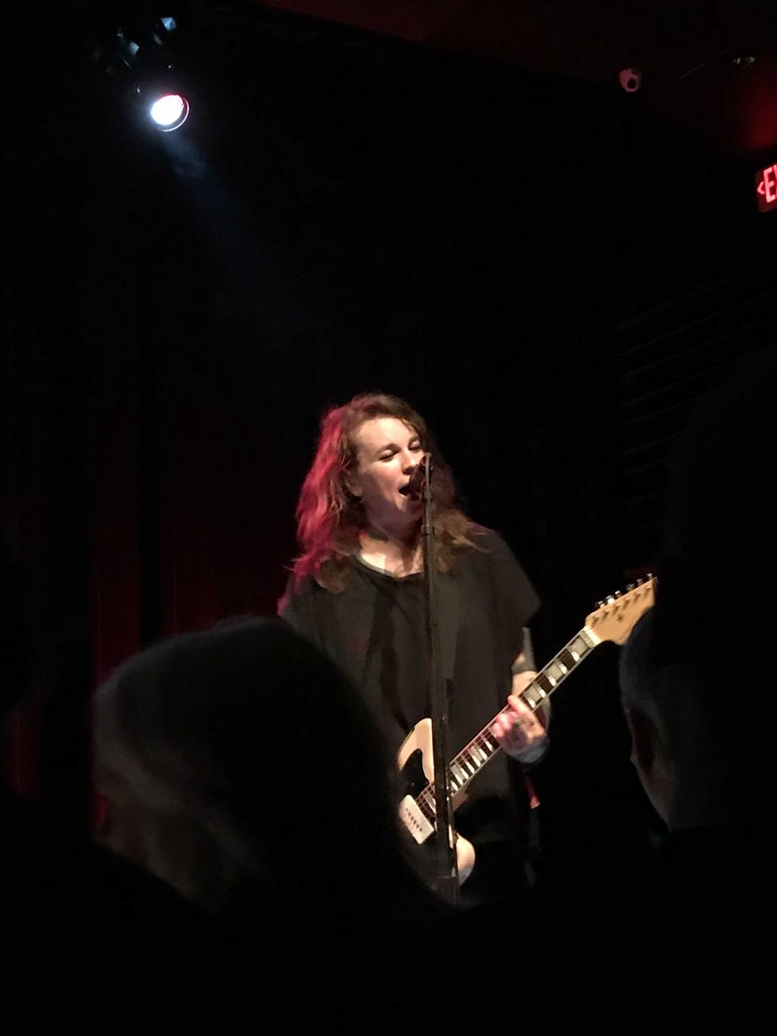 Front woman Laura Jane Grace performs at the Kessler Theater