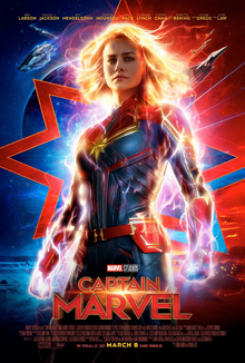 'Captain Marvel' tops $1 Billion as seventh biggest MCU release of all time.