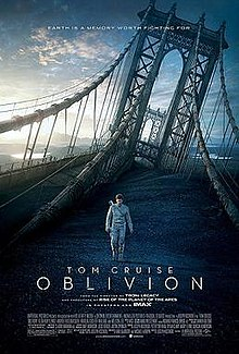Oblivion is a 2013 American post-apocalyptic science fiction action film based on Joseph Kosinski's unpublished graphic novel of the same name.